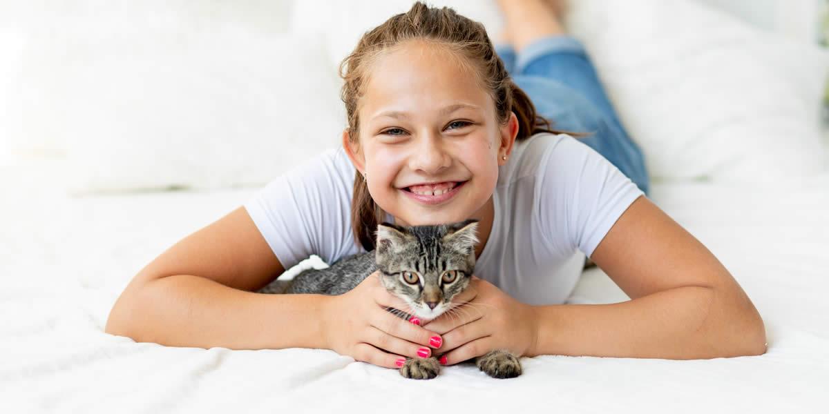 Tutti i benefici della Pet Therapy con i gatti